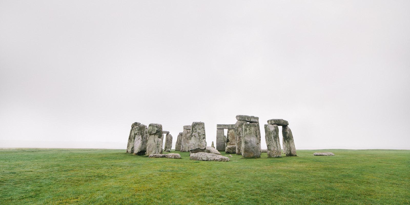 stonehenge fog