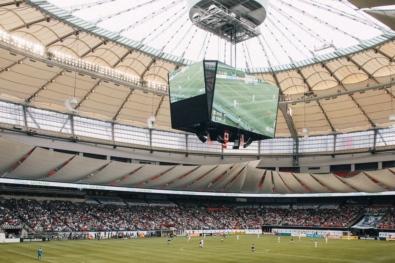 Whitecaps Bc Place Stadium Vancouver Photographer