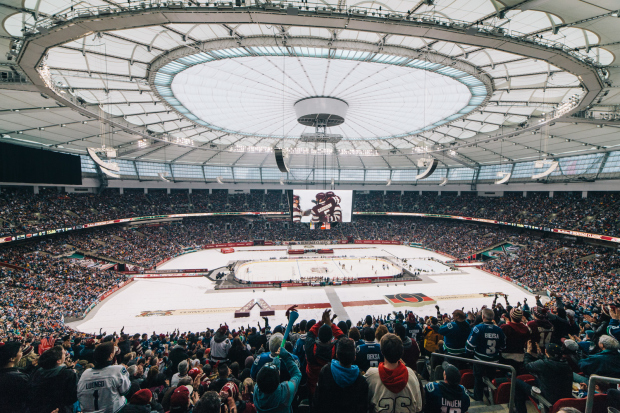 Canucks – BC Place Stadium – NHL Heritage Classic in Vancouver