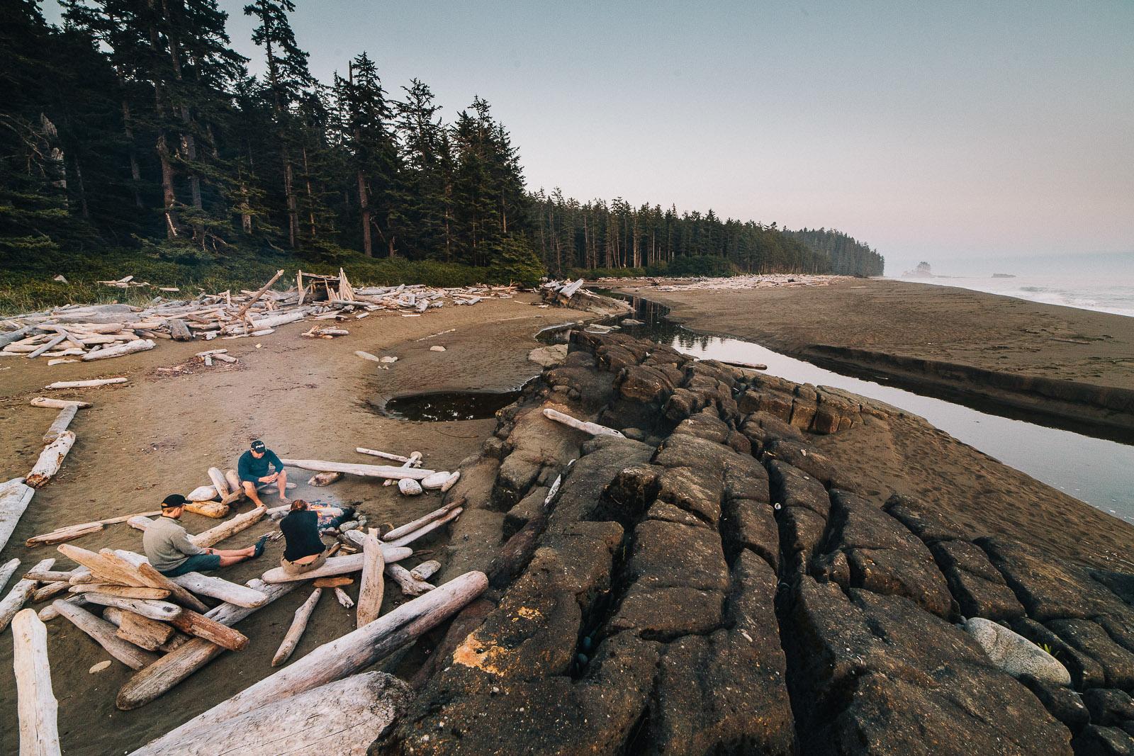 west coast trail campsite