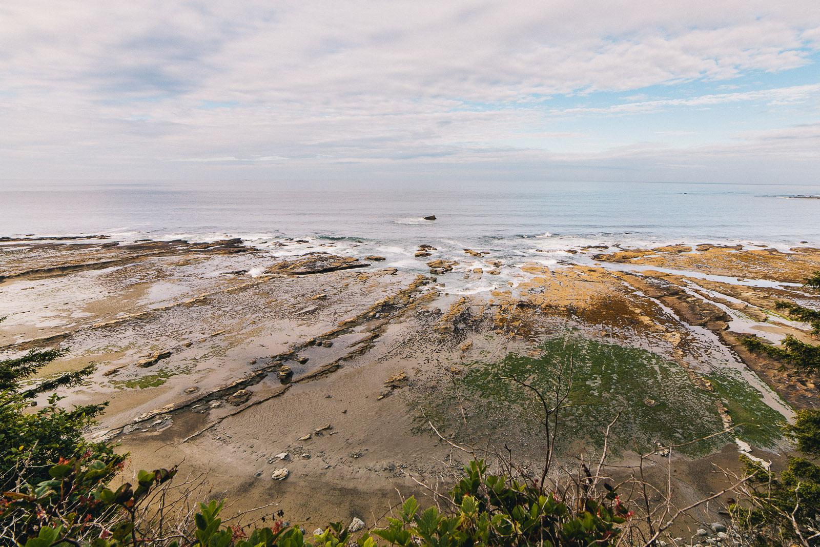 west coast trail shoreline
